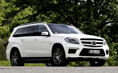 Mercedes-Benz GL63 AMG wallpaper