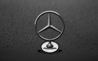 Mercedes-Benz hood ornament wallpaper 2560x1600 jpg