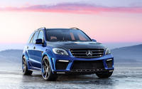 Mercedes-Benz M-Class ML 63 AMG wallpaper 2560x1600 jpg
