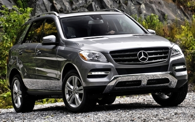 Mercedes-Benz ML550 wallpaper