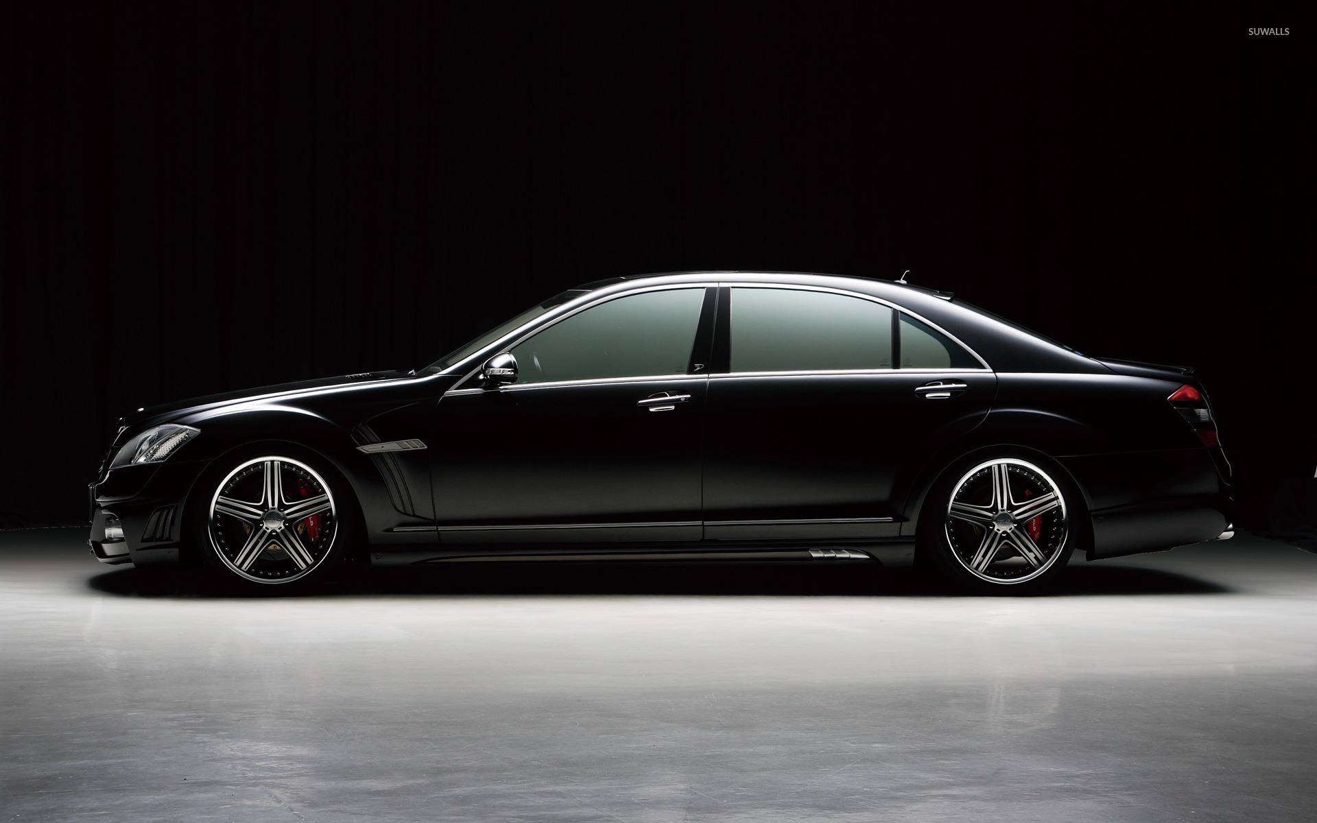 Mercedes benz s class black bison edition wallpaper car for Mercedes benz black edition