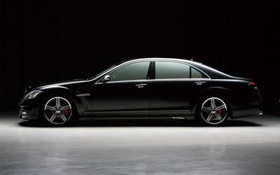 Mercedes-Benz S-Class Black Bison Edition wallpaper