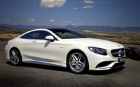 Mercedes-Benz S63 V8 Biturbo wallpaper 3840x2160 jpg