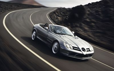 Mercedes-Benz SLR McLaren [5] wallpaper