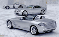 Mercedes-Benz SLR McLaren [4] wallpaper 1920x1200 jpg