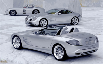 Mercedes-Benz SLR McLaren [4] wallpaper