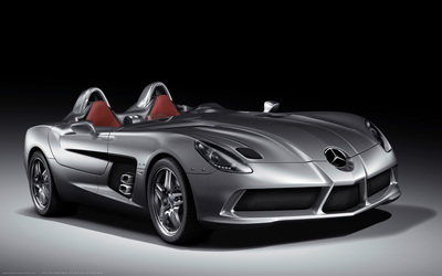 Mercedes-Benz SLR McLaren Stirling Moss wallpaper