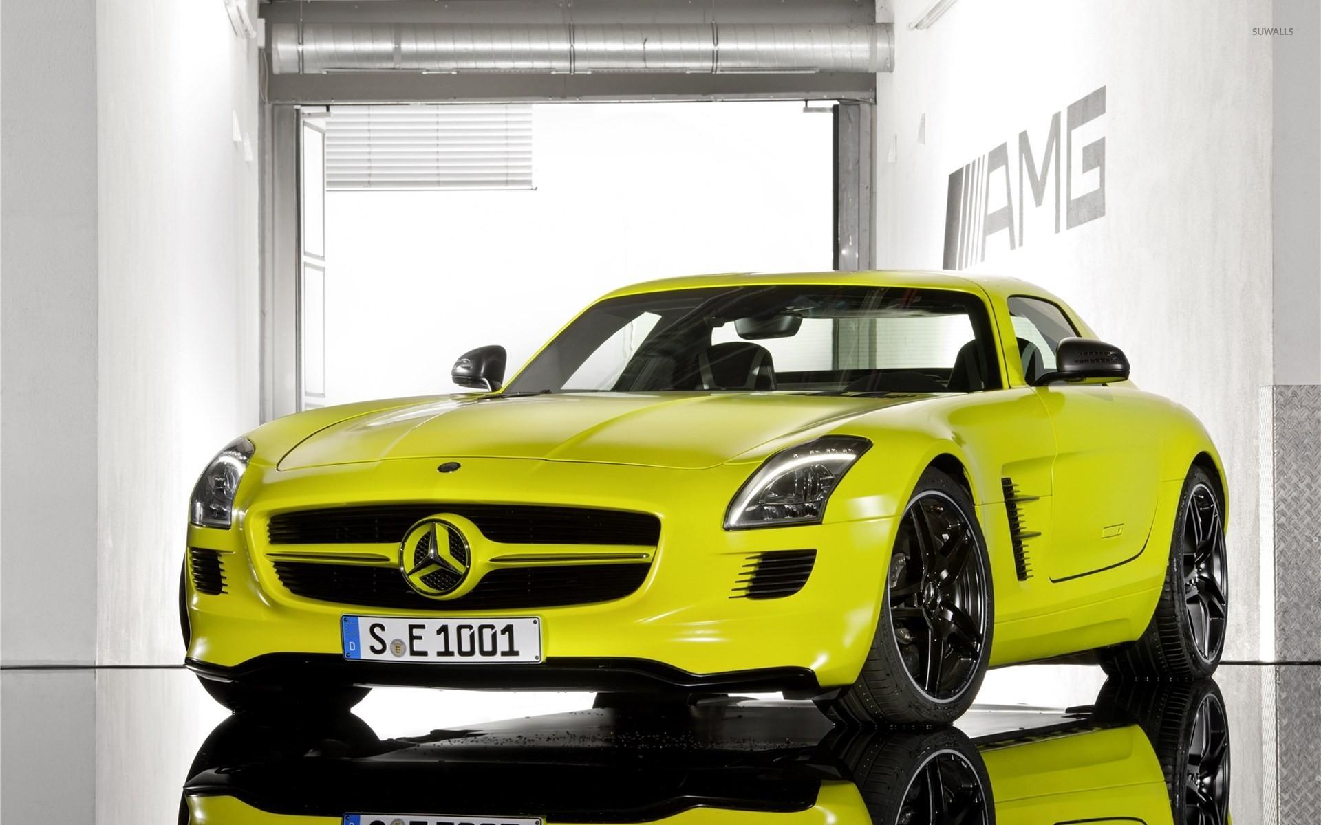 Mercedes-Benz SLS AMG 11 wallpaper - Car wallpapers - #11501