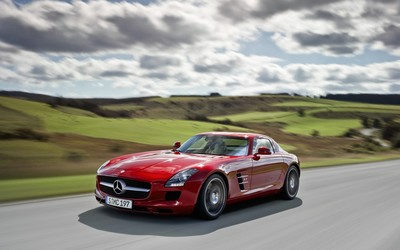 Mercedes-Benz SLS AMG [7] wallpaper