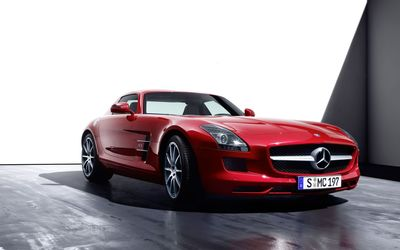 Mercedes-Benz SLS AMG [8] wallpaper