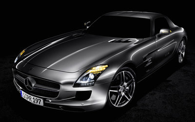 Mercedes-Benz SLS AMG [3] wallpaper