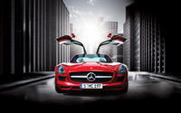Mercedes-Benz SLS AMG [12] wallpaper 1920x1080 jpg
