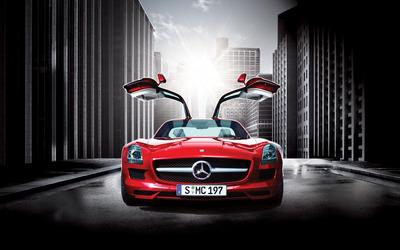 Mercedes-Benz SLS AMG [12] wallpaper