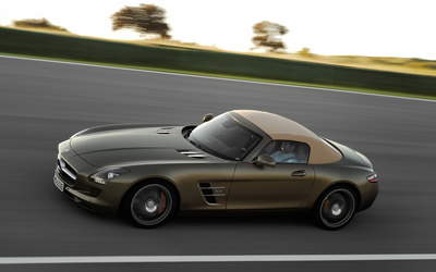 Mercedes-Benz SLS AMG [20] wallpaper