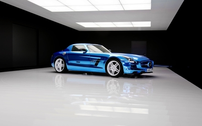Mercedes-Benz SLS AMG [14] wallpaper