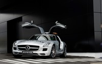 Mercedes-Benz SLS AMG [19] wallpaper 1920x1200 jpg