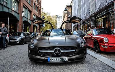 Mercedes-Benz SLS AMG [17] wallpaper