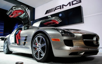 Mercedes-Benz SLS AMG [26] wallpaper 1920x1200 jpg