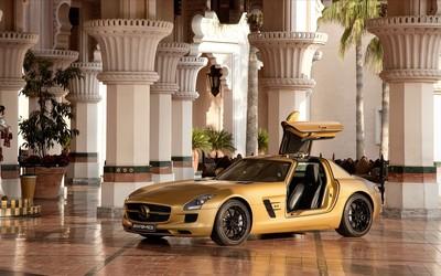 Mercedes-Benz SLS AMG [15] wallpaper
