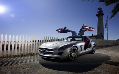 Mercedes-Benz SLS AMG [23] wallpaper