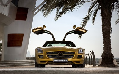 Mercedes-Benz SLS AMG [24] wallpaper