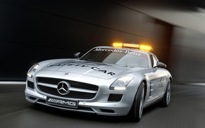 Mercedes-Benz SLS AMG [9] wallpaper