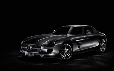 Mercedes-Benz SLS AMG [21] wallpaper