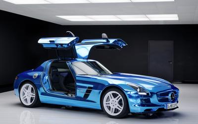 Mercedes-Benz SLS AMG [18] wallpaper