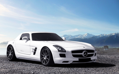 Mercedes-Benz SLS AMG [22] wallpaper