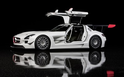 Mercedes-Benz SLS AMG [4] wallpaper