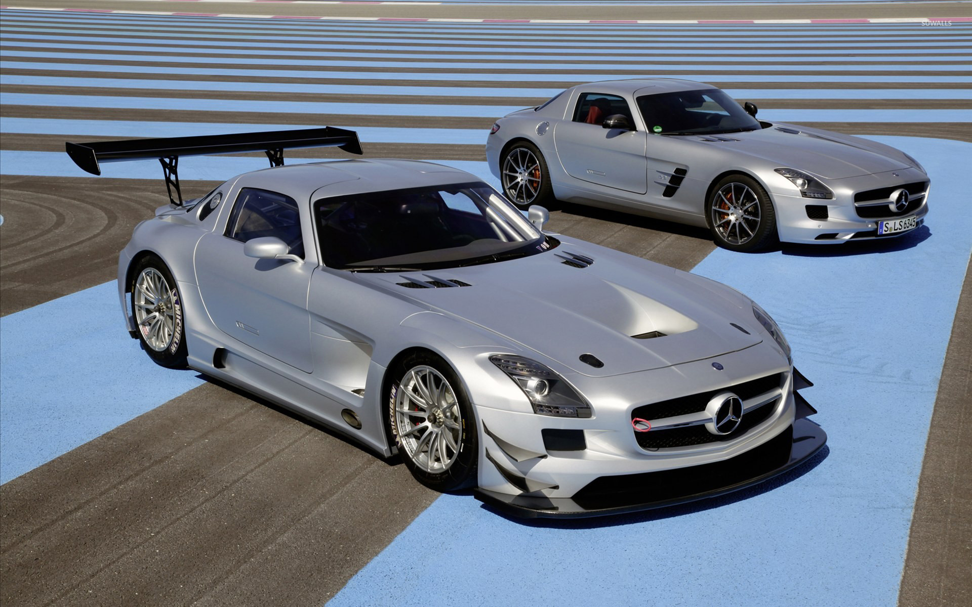 Mercedes benz sls amg gt3 wallpaper car wallpapers 12258 for Mercedes benz gt3