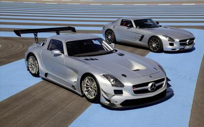 Mercedes-Benz SLS AMG GT3 wallpaper