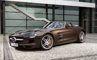 Mercedes-Benz SLS AMG Roadster wallpaper 1920x1200 jpg