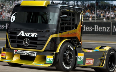 Mercedes-Benz truck wallpaper