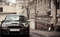 MINI Cooper S on the street wallpaper 1920x1200 jpg