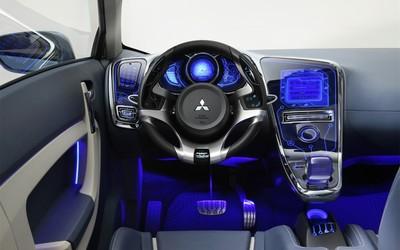 Mitsubishi i-MiEV interior wallpaper