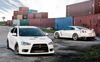 Mitsubishi Lancer wallpaper