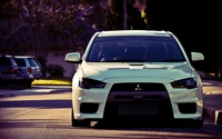 Mitsubishi Lancer Evolution wallpaper 1920x1200 jpg