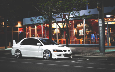 Mitsubishi Lancer Evolution [2] wallpaper
