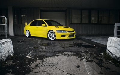 Mitsubishi Lancer Evolution [8] wallpaper