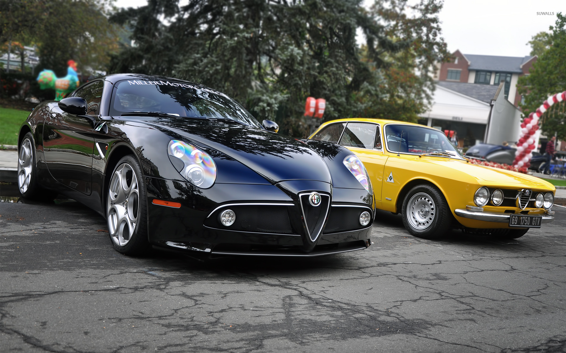 New And Old Alfa Romeo Wallpaper 1920x1200 Jpg