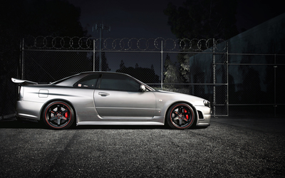 Nissan Skyline GT-R [5] wallpaper