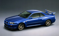 Nissan Skyline GT-R V-spec R34 wallpaper 1920x1200 jpg