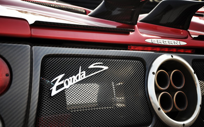 Pagani Zonda S wallpaper