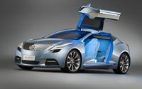 Pale blue Buick Riviera concept wallpaper 1920x1200 jpg