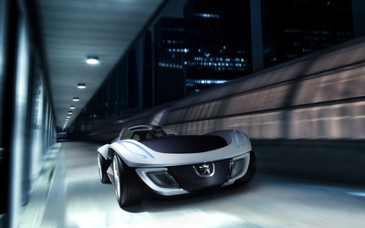 Peugeot Flux Concept wallpaper