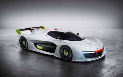 White Pininfarina H2 Speed concept wallpaper