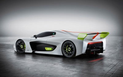 Pininfarina H2 Speed concept back side view wallpaper