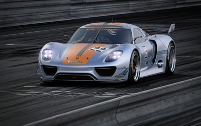 Porsche 918 RSR concept [3] wallpaper