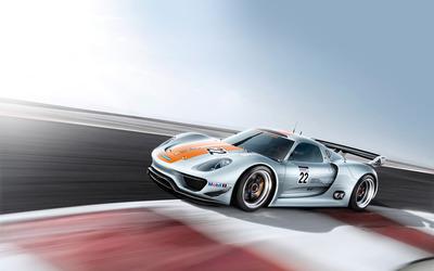 Porsche 918 RSR Concept [4] wallpaper
